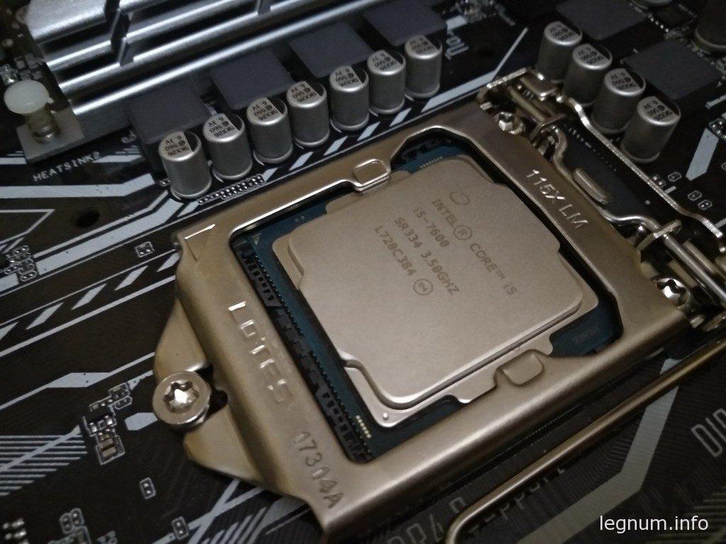 Intel Core i5-7600, s1151, 4 ядра, 3.50GHz, iGPU, HD Graphics