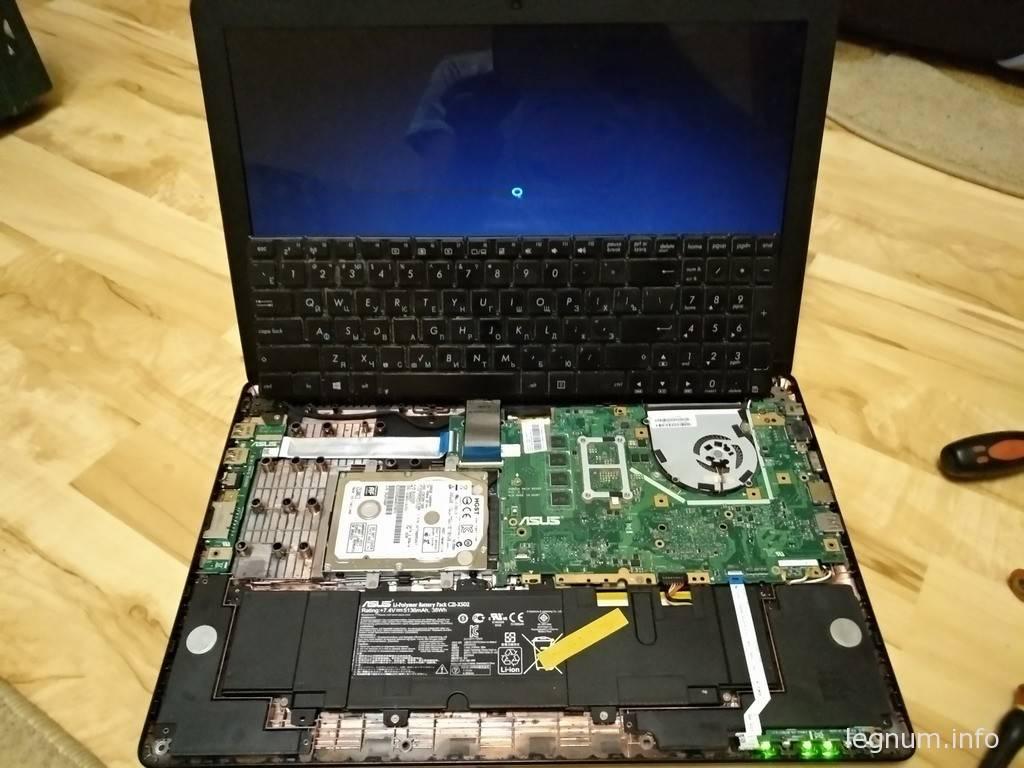 Восстановление ноутбука ASUS X502C