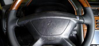 Как снять руль Galant EA