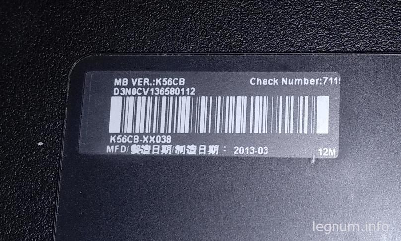 ASUS K56CB