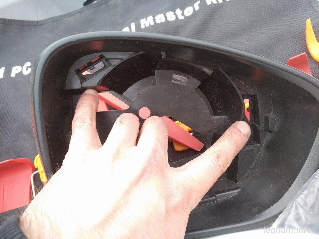 Хромированные зеркала на Citroen C4