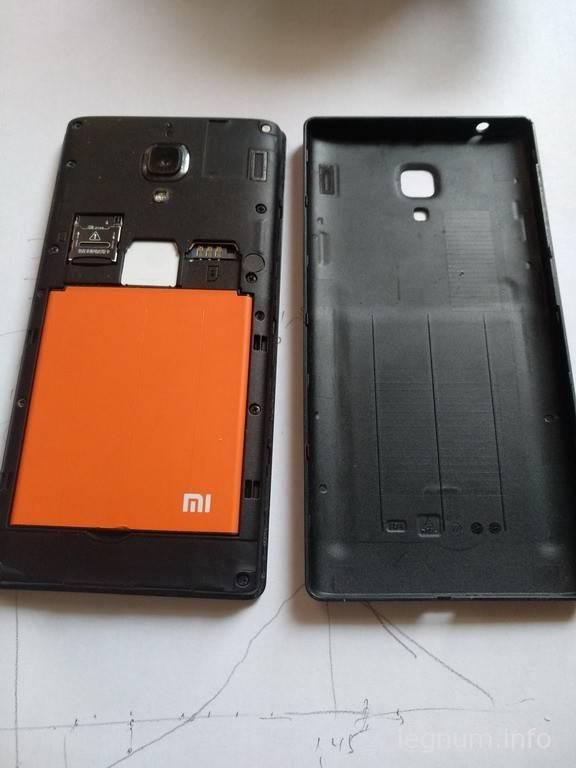 Разборка и ремонт Xiaomi Redmi 1