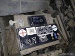 Замена аккумулятора Skoda Octavia A5