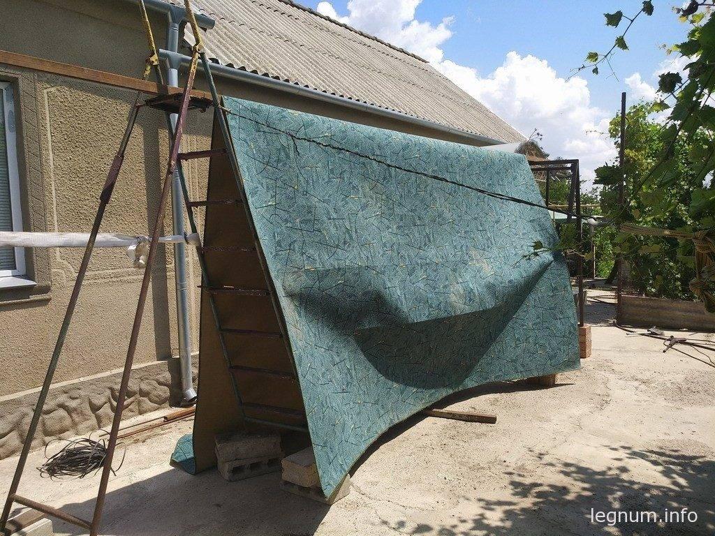Как помыть большой ковер в селе