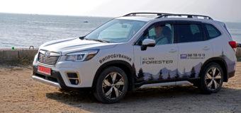 Новый Subaru Forester 2019 — тест-драйв
