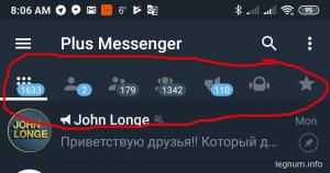 Про удобства в Telegram