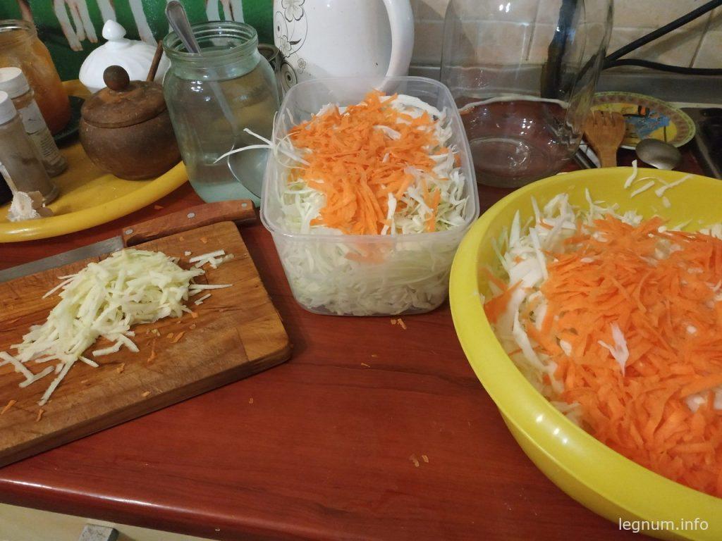 Квашеная капуста - быстро и вкусно