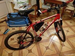 Багажник на глагол велосипеда
