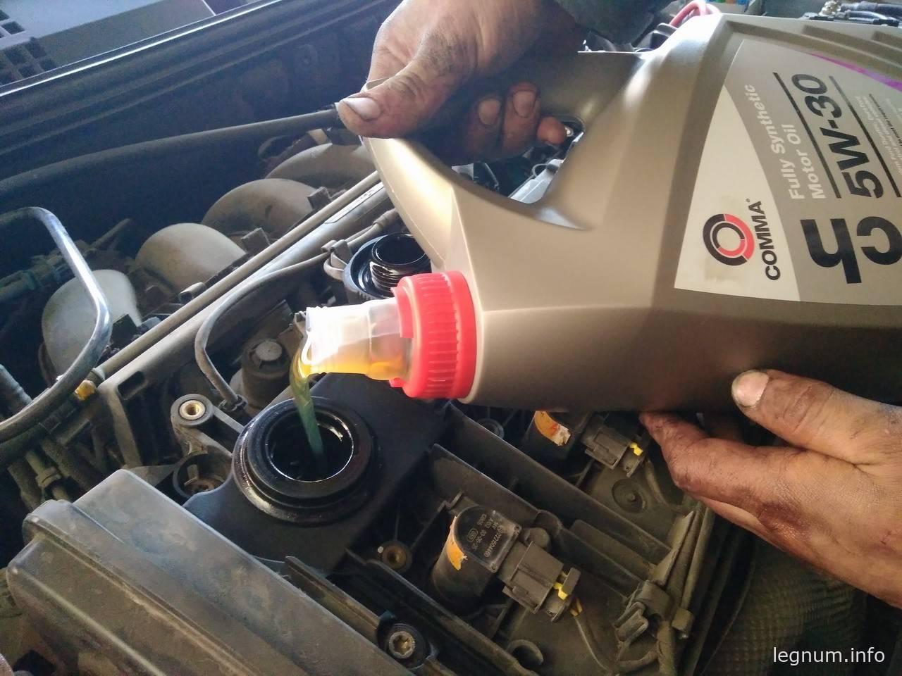 Замена масла на FIAT Stilo