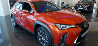 Lexus UX — новый городской премиальный кроссовер