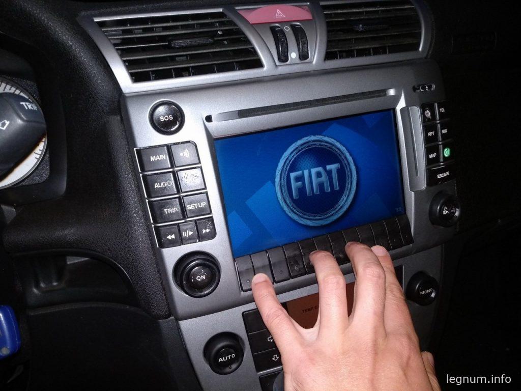 Замена модуля кнопок на FIAT Stilo