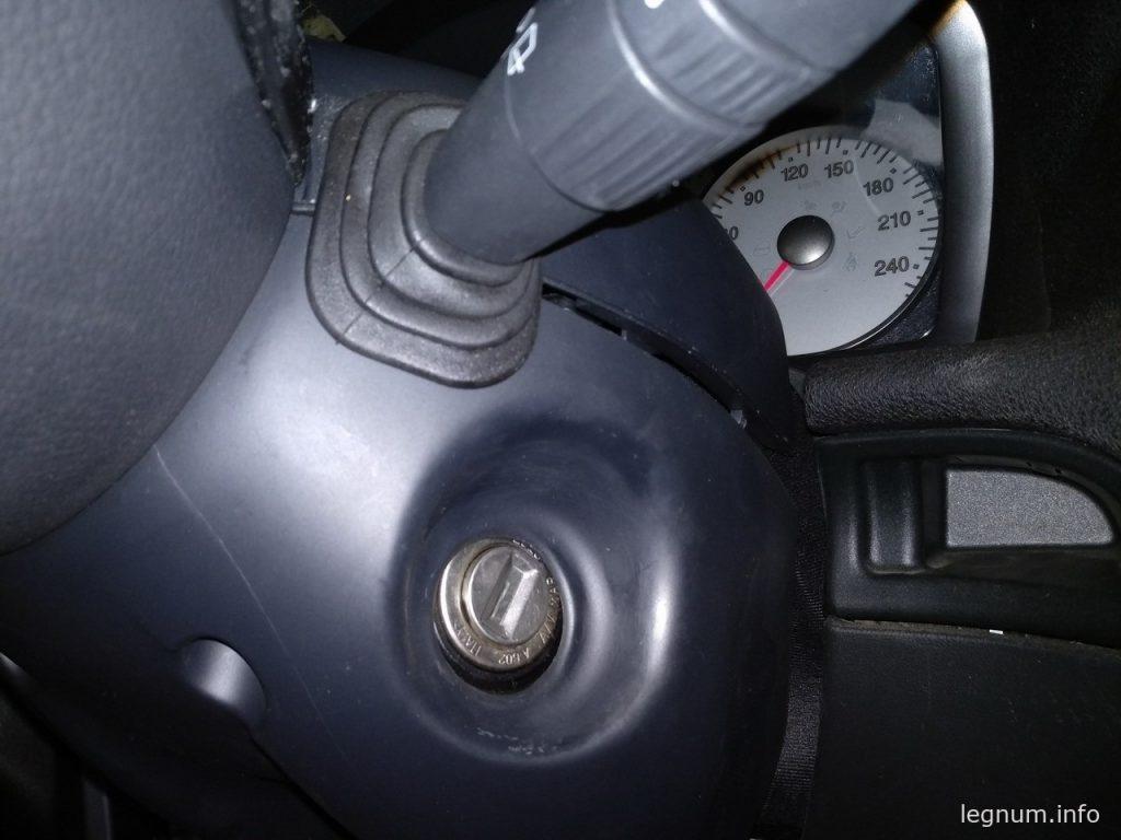Снятие щитка приборов FIAT Stilo