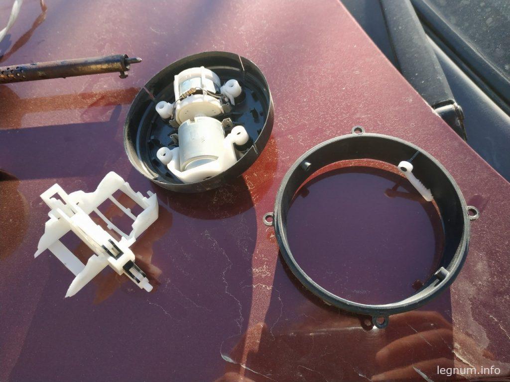 Механизм зеркала Passat B3 и сфера