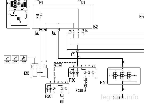 Замена выключателя стопов FIAT Stilo
