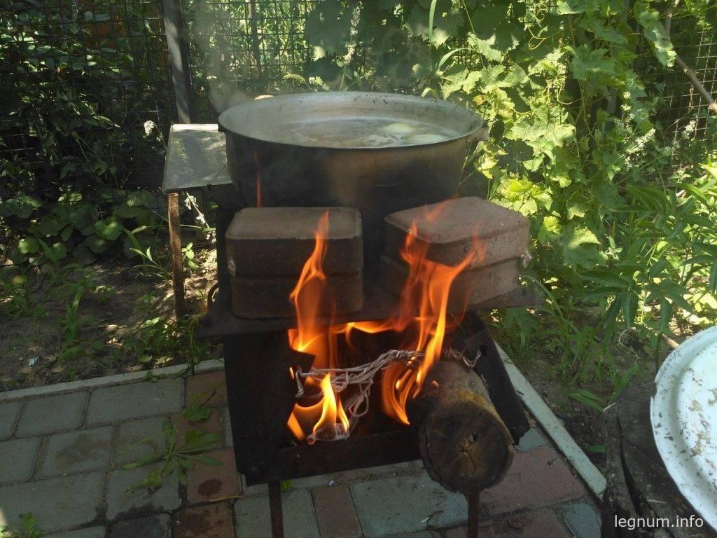 Уха на огне