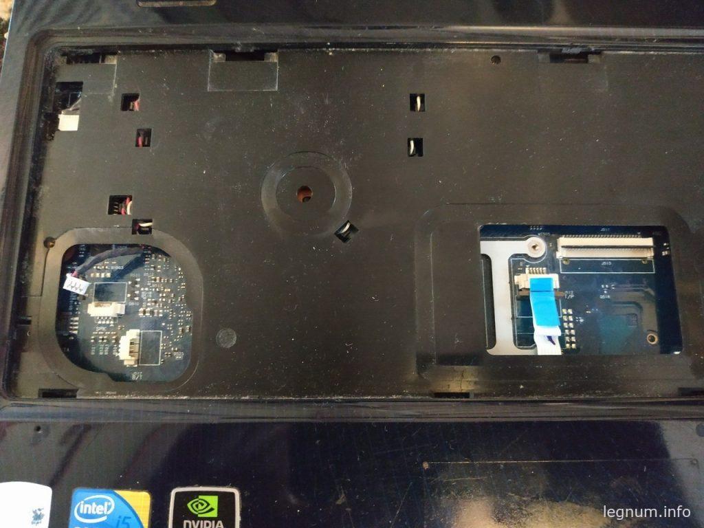 Выключается ноутбук SAMSUNG R590