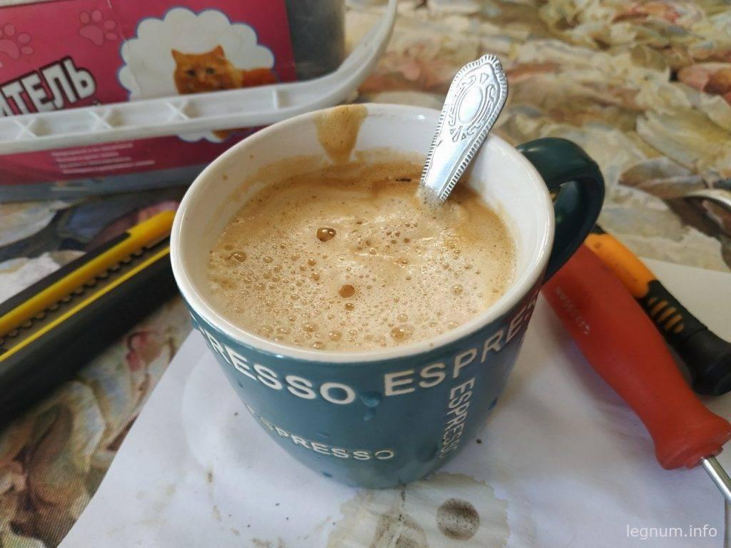 Крутая пенка из кофеварки