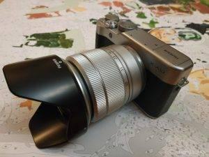 Первые впечатления FUJIFILM X-A10
