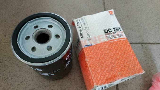 Масляный фильтр MAHLE OC 264