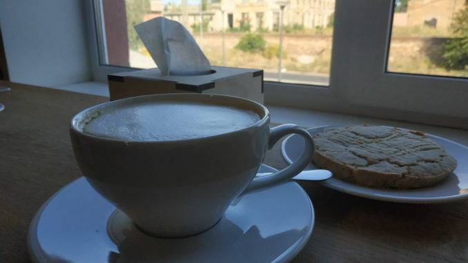 Кафе в центре админ.услуг
