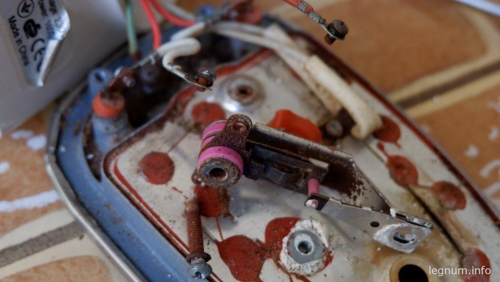 Почти отремонтировал утюг AURORA AU029
