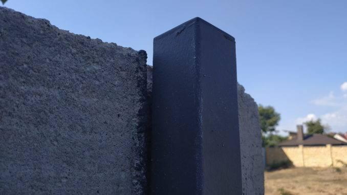 Заглушка квадратная внутренняя 50х50