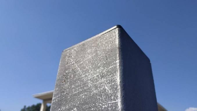 Заглушка квадратная внутренняя 100х100