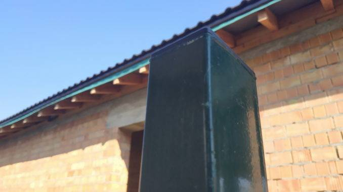 Заглушка квадратная внутренняя 40х60