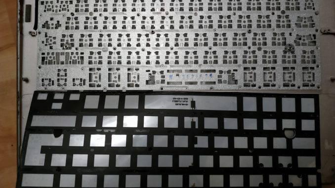 Подложка подсветки клавиатуры