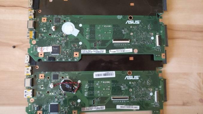 Устанавливаем старый аккумулятор для BIOS