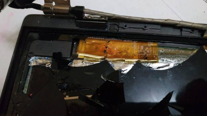 Шлейф тач-скрина экрана ноутбука UX31A