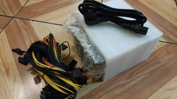 Упаковка Блок питания Vinga 1650W (VPS-1650 V2 Mining edition)