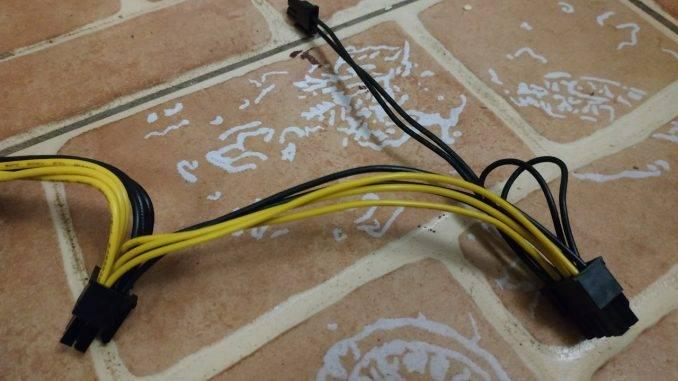 Провода и разъемы Блок питания Vinga 1650W (VPS-1650 V2 Mining edition)
