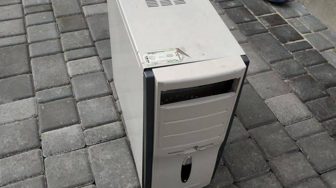 Компьютерный корпус для майнинга