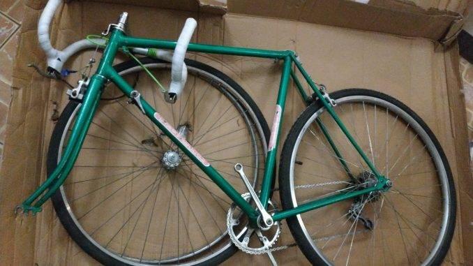 Упаковка велосипеда