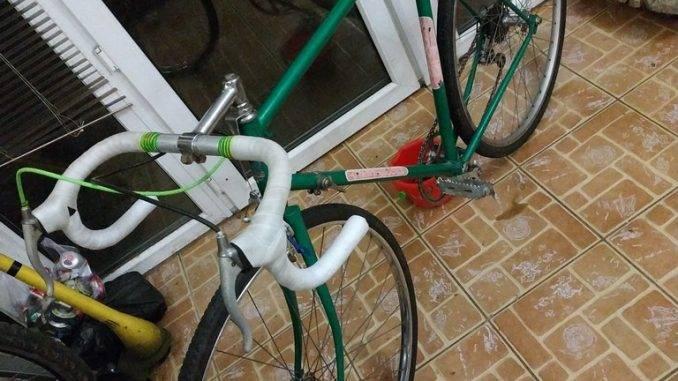 Велосипед в сборе