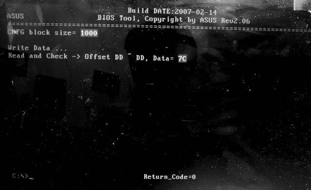 bt.exe -C CNFG /W DD 7C
