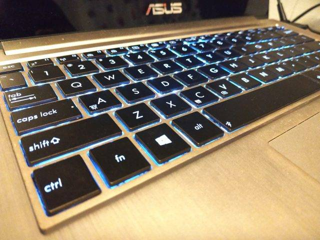 Подсветка клавиатуры ASUS Zenbook UX31A