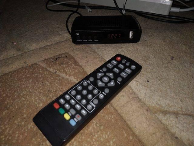 Пульт ДУ от DVB-T2